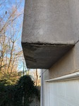 EIFS Cladded Chimney with Water Damage