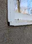 Rotten Window Frame from Moisture Intrusion